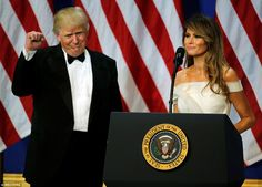 In her first public remarks since becoming First Lady, Mrs Trump said she was 'honored' by...