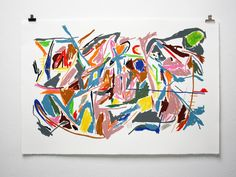 """unbuiltroads: """" Robin Cameron, 'Abstract Expressionism' """""""