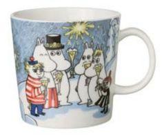 Moomin mug Millenium 2000 Moomin Mugs, Moomin Valley, Tove Jansson, Marimekko, Mug Designs, Crafts To Do, Earthenware, Tea Set, Poppies
