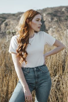 Summi Summi White bodysuit paired with vintage Levi's as seen on Danielle Victoria by photographer Michelle Moore Rockabilly Fashion, Punk Fashion, Fashion Boots, Danielle Victoria, Emo Dresses, Party Dresses, Fashion Dresses, Lily Evans, Ginger Girls