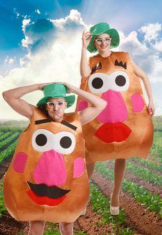 Disfraces de carnaval Original disfraz de Mr. Potato y Sra. Potato