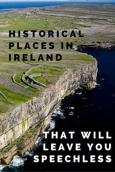 The Top 10 Historical Places You Must Visit in Ireland. Ireland is a country steeped in history, spanning thousands of years. Historical places pepper the landscape, each telling a unique story. Walking among these sites, you can feel history come alive. Ireland Vacation, Ireland Travel, Galway Ireland, Best Of Ireland, Backpacking Ireland, Belfast Ireland, Ireland Map, Places To Travel, Travel Destinations