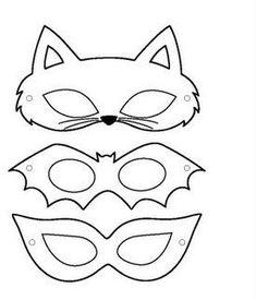 Moldes Máscara de Carnaval ~ Arte De Fazer   Decoração e Artesanato