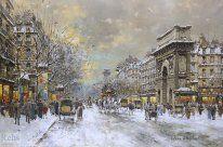 Porte St Martin and Porte St Denis/Antoine Blanchard