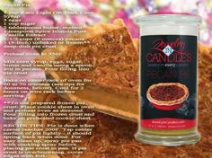 Pecan Pie and it pairs well with the Pecan Pie Candle and/or Tarts