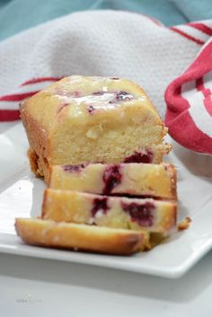 Quick Bread | This Lemon Raspberry Loaf is a delicious Spring Quick Bread Recipe.  Fresh raspberries (or frozen) give a little twist to a delicious Lemon Bread Recipe.
