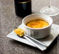 Lemon Ginger Creme Brulee   dessertdesignlife.com