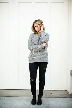 longer sweater to wear with leggings - Kensington Way