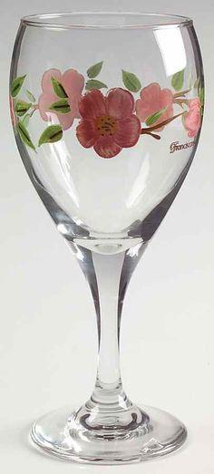 Franciscan DESERT ROSE 10 Oz Wine Goblet 7054299 #Franciscan