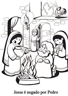 simon peter coloring pages - photo#36