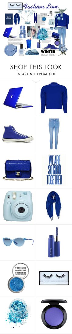 """""""Untitled #21"""" by gurleenkaur02 on Polyvore featuring Speck, Paper London, Converse, Chanel, Fujifilm, Nordstrom, Vogue Eyewear, MAC Cosmetics, Obsessive Compulsive Cosmetics and Huda Beauty"""
