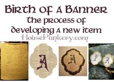I thought I would share my process for creating a new item. I just listed a line of fall banners. There is a lot that goes into a handmade item, besides the love. This is mostly a new product line. I do have a bunch of vintage papers saved for… Fall Banner, New Item, Vintage Paper, Household Items, New Product, Birth, Geek Stuff, Handmade Items, Blog