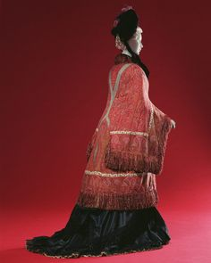 omgthatdress:    Visite  late 1870s  The Kyoto Costume Institute