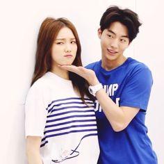 "NYLON KOREA TV - Lee Sung Kyung and Nam Joo Hyuk Polham BTS [1/3] @skawngur @heybiblee adorable<span class=""emoji emoji1f60d""></span>"