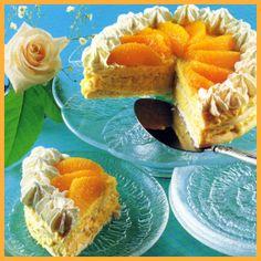 Meringuentorte und Punschtorte.  Meringuentorte ist eine süße Torte für kleine Runden. Zarte Baiserböden werden mit Orangencreme  zusammengesetzt und mit frischen Orangenfilets gekrönt.   Punschtorte: Ein schneller Apfel-Rührteig wird nach dem Backen mit Rum getränkt und mit gewürzter Sahne überzogen und verziert.  http://www.schlemmereckchen.de/meringuentorte-und-punschtorte/