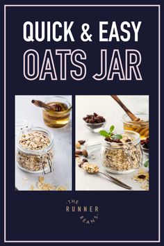 Trust us, oats in a jar tastes better! A quick pick-me-up snack that will surely leave you brimming with energy. Be it a scoop out of a peanut butter jar or a chocolate spread bottle, every bite is packed with fiber leaving you feeling fuller got longer! Your runs just got better! Click to know hot to perfect your oats in a jar! Healthy Food Habits, Healthy Living Recipes, Good Healthy Snacks, Healthy Diet Recipes, Healthy Breakfast Recipes, Snack Recipes, Autumn Recipes Lunch, Fall Recipes, Chocolate Spread