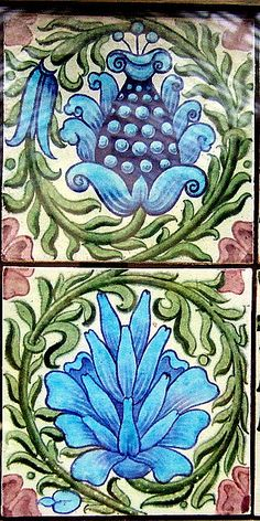 William De Morgan- tiles | Flickr - Photo Sharing!