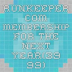 runkeeper.com membership for the next year(39.99)