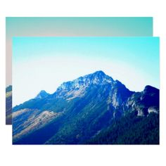 Tatras - Giewont - photographs of mountains Card  $10.95  by DesignedByJoannaP  - cyo customize personalize unique diy