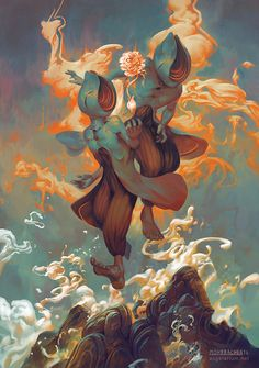 Sandalphon, Angel of New Life by PeteMohrbacher.deviantart.com on @DeviantArt