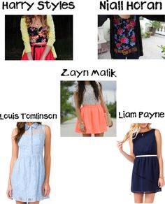 """""""1D Preference - What Your Wearing When He Says I love you"""" by browniebrunie ❤ liked on Polyvore"""