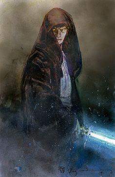 Anakin Skywalker by Bill Sienkiewicz
