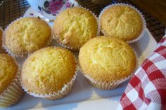 Lemon Sour Cream Muffins