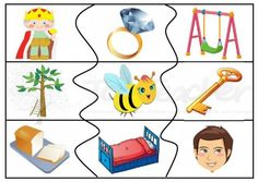 self correcting rhyme puzzle for literacy centres