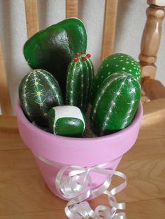 Rock Cactus Garden OOAK