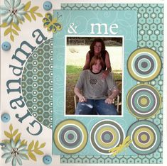 Grandparent themed scrapbook pages | 12X12 layout | Scrapbooking Ideas | Creative Scrapbooker Magazine #grandparents #scrapbooking #12X12layouts