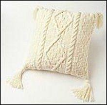 Warm Knit Aran Pillow