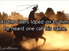 Johnny Cash - Ghost Riders in the sky (Lyrics) - YouTube