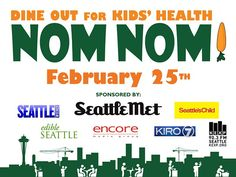 Save the date! Next Thursday, we're excited to be participating in #NomNom2016. Part of our proceeds that night will go to organizations that help kids learn how to cook and grow healthy food, make healthy eating choices, and be physically active.