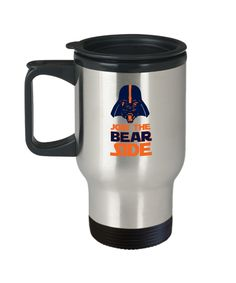 Join the Bear Side Chicago Football Travel Mug