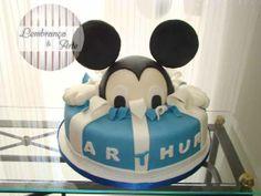 Mickey Mouse Cake, isn't it cute?