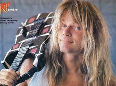 Adrian Vandenberg, Whitesnake, 1988