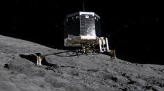 Philae cabalga un cometa: El aterrizaje de Philae