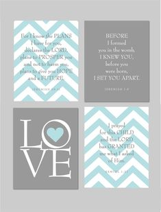 Scripture Nursery Print Baby Gift Love print We by karimachal, $40.00
