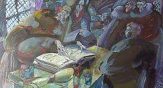 Le Illustrazioni Di Alberto Breccia Per Il Nome Della Rosa Arte Dipingere Idee Illustrazioni