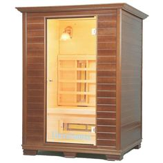 Her own personal sauna?  My mom would love that!  Then she could relax and dry off after a bath without leaving home.  #BrookstoneMoms
