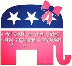 Republican.... Perfect for Jess!