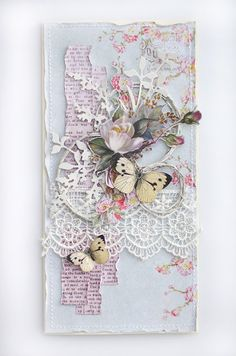 inkido: The spirit of summer captured - a shabby card by DT Zanka
