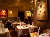 Elevation restaurant, Aspen. The vibe here is romantic cutting edge. A great combination and great food too.