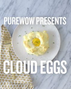 How to make cloud eggs, the dreamiest breakfast ever