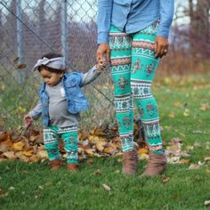 Item Type: Pants Style: Bohemian Sleeve Length: Full Fit: Fits true to size, take your normal size Pattern Type: Print Material: Polyester season: spring autumn family matching clothes family look Sty
