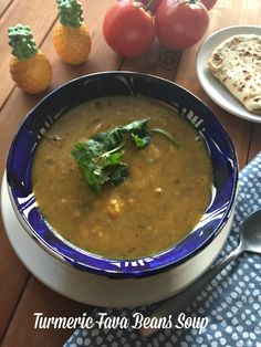 Turmeric Fava Beans Soup a comforting option for winter