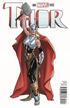 Thor #1 variant cover by Sara Pichelli *