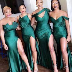 Emerald Green Bridesmaid Dresses, Cheap Bridesmaid Dresses Online, Mermaid Bridesmaid Dresses, Mismatched Bridesmaid Dresses, Cheap Homecoming Dresses, Wedding Bridesmaids, Wedding Dresses, Emerald Wedding Colors, Prom Dress