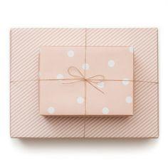 Sugar Paper Pale Pink Reversible Wrap