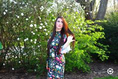 Floral spring dress- colorful dancing dress http://liketk.it/2r0WX
